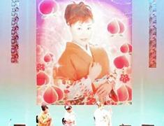 日本民謡ふるさと会様背景幕
