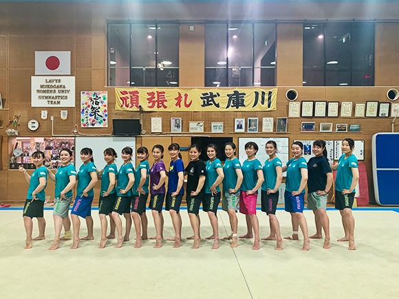 プリントイメージ 武庫川女子大学体操部様