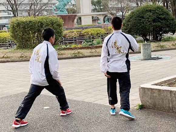 プリントイメージ 清風高等学校体操競技部様ブルゾン